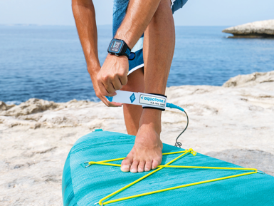 AQUATONE 8' SUP COIL LEASH